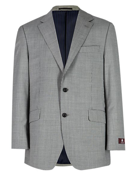 Pure New Wool 2 Button Mini Houndstooth Jacket