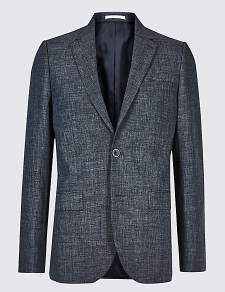 Linen Miracle Tailored Fit Jacket