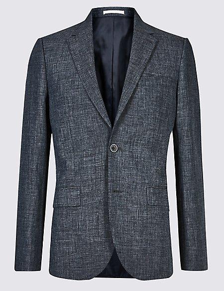 Linen Miracle Slim Fit Jacket