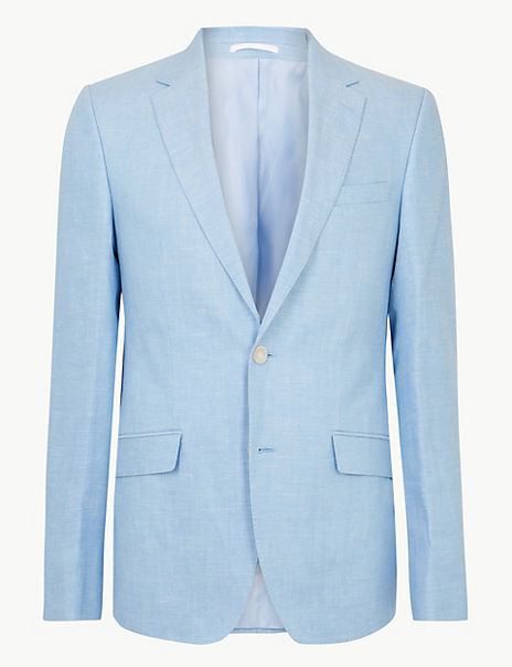 Slim Fit Linen Miracle Jacket