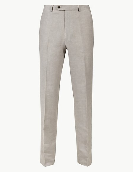 Big & Tall Tailored Fit Trousers