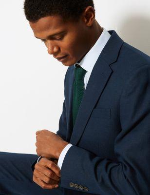 Big & Tall Textured Regular Fit Jacket
