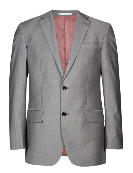Pure Wool 2 Button Jacket