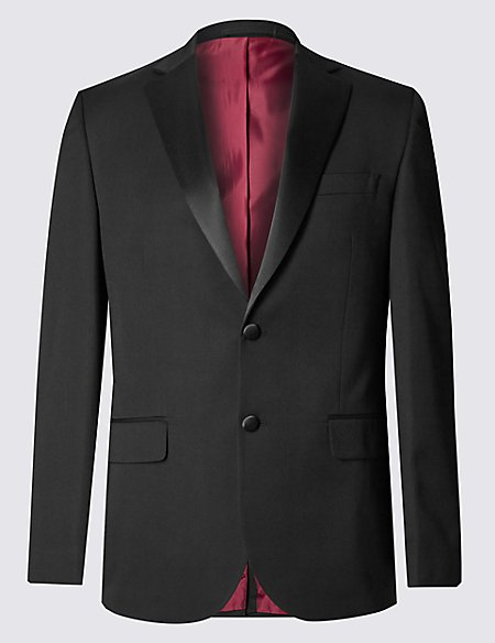 Black Tailored Fit Jacket