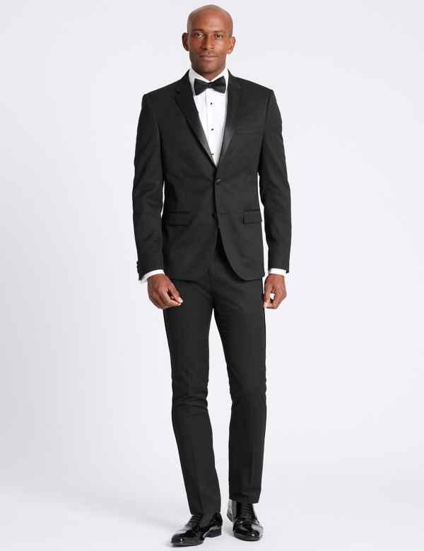 Black Skinny Fit Jacket