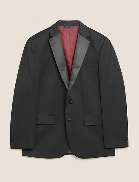 Black Regular Fit Jacket