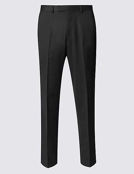 Big & Tall Black Tailored Fit Trousers