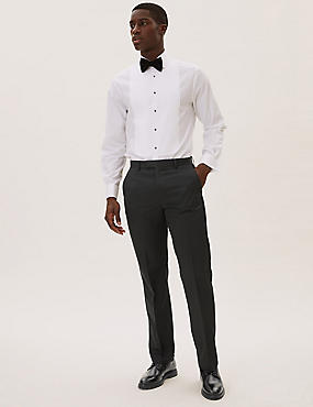 Black Regular Fit Trousers