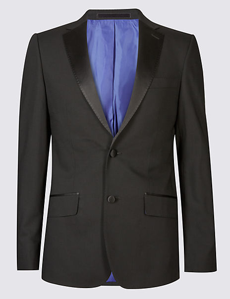 Black Slim Fit Dinner Jacket