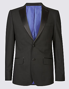 Black Slim Fit 3 Piece Tuxedo Suit
