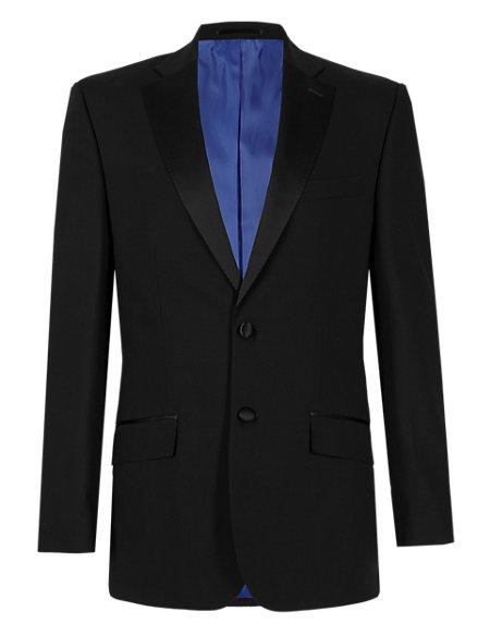 Big & Tall Black Regular Fit Jacket