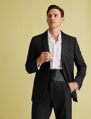 Evening Black Regular Fit Jacket