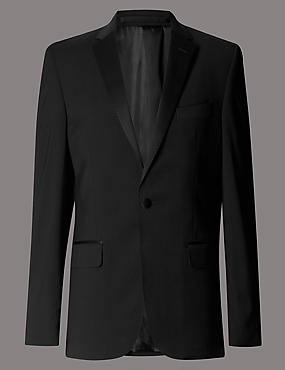 Big & Tall Black Tailored Fit Suit