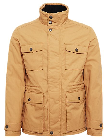 Pure Cotton Military Jacket