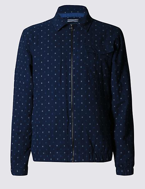 Pure Cotton Harrington Jacket