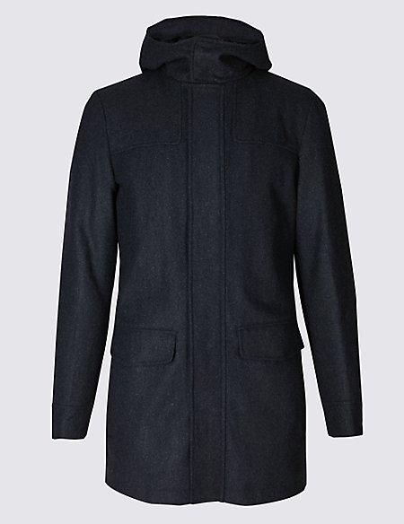 Wool Rich Duffle Coat