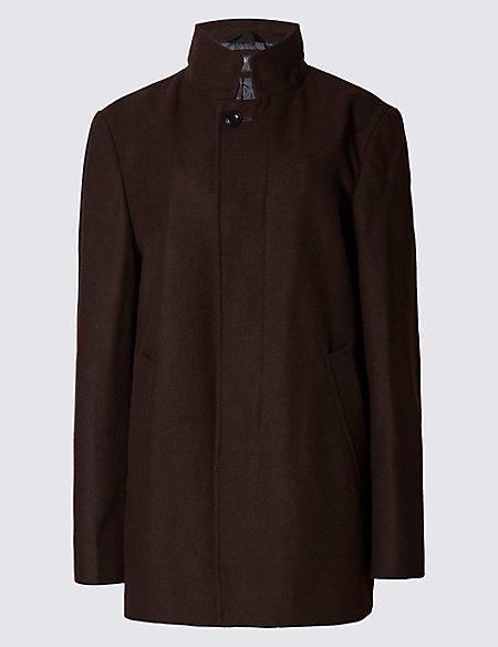 Funnel Neck Jacket