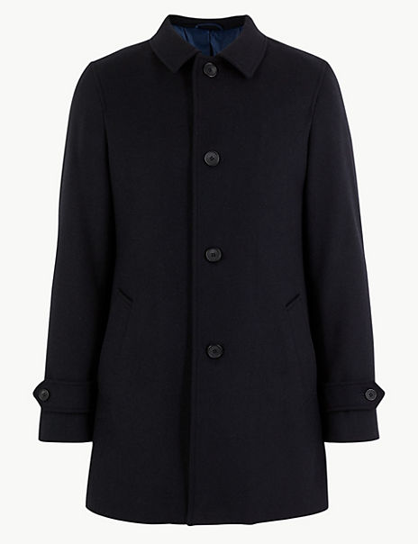 Overcoat with Wool