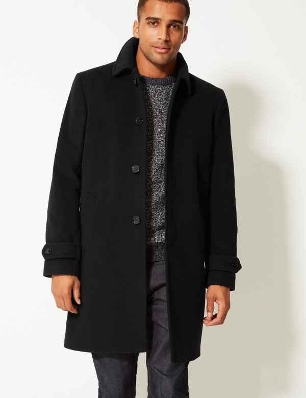 d987b71bf7c44 Mens Overcoats   Long & Suit Overcoat for Men  M&S