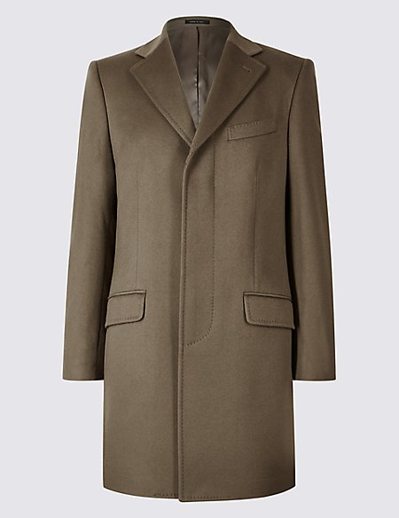 Pure Cashmere Revere Coat