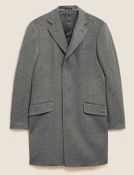 Cashmere Longline Coat