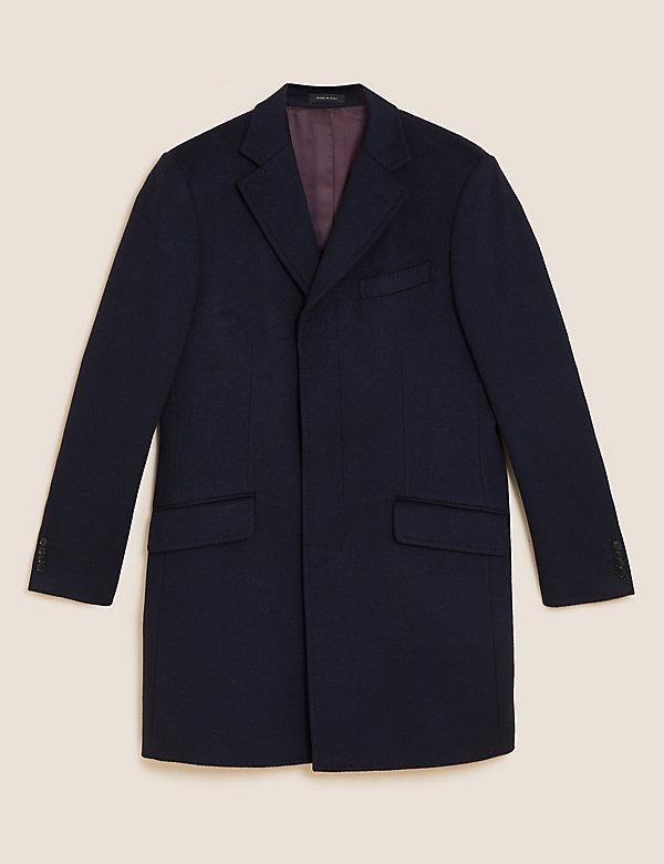 Cashmere Revere Overcoat