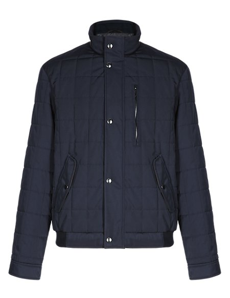 Water Resistant Bomber Jacket with Stormwear™