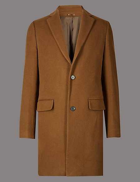 Wool Rich Revere Overcoat