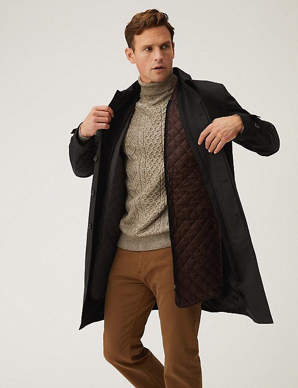 معطف ماك مبطن كلاسيكي