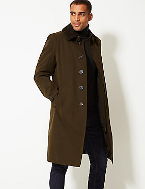 Cotton Blend Trench Coat with Stormwear™ ... d868662e4