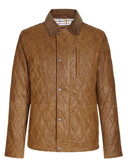 Suede Quilted Shooting Jacket with Thinsulate™