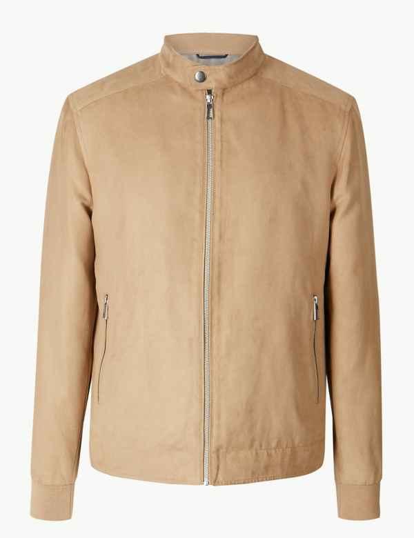 5d794924505 Biker Jacket. Big   tall sizes available