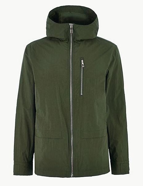 Short Lightweight Parka with Stormwear™