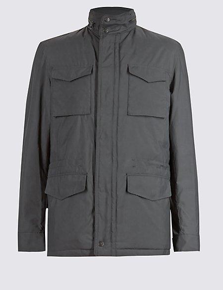 4 Pockets Hooded Jacket with Stormwear™