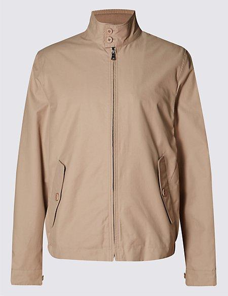 Cotton Rich Harrington with Stormwear™