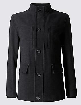 Pure Cotton Moleskin Jacket