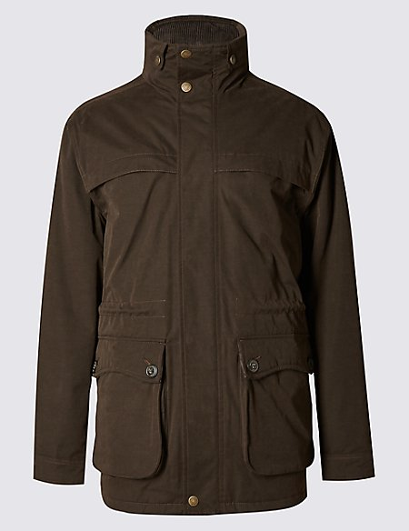 Cotton Blend Country Parka with Stormwear™