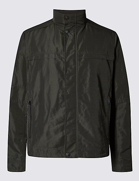 Short Funnel Neck Jackets with Stormwear™
