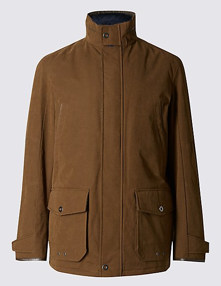 Cotton Blend Casual Jacket with Stormwear™