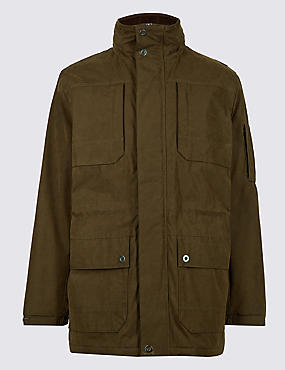 Cotton Blend Parka with Stormwear™