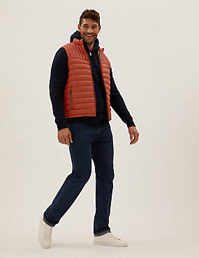 Feather and Down Recycled Gilet