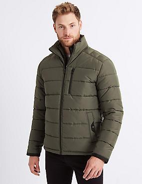 Padded Jacket with Stormwear™ , OLIVE, catlanding