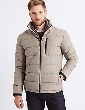 Padded Jacket with Stormwear™ , NEUTRAL, catlanding