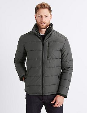 Padded Jacket with Stormwear™ , GREY, catlanding
