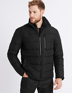 Padded Jacket with Stormwear™ , BLACK, catlanding