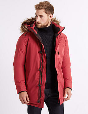 Parka with Stormwear™, RED, catlanding