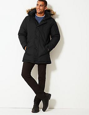 Parka with Stormwear™, BLACK, catlanding