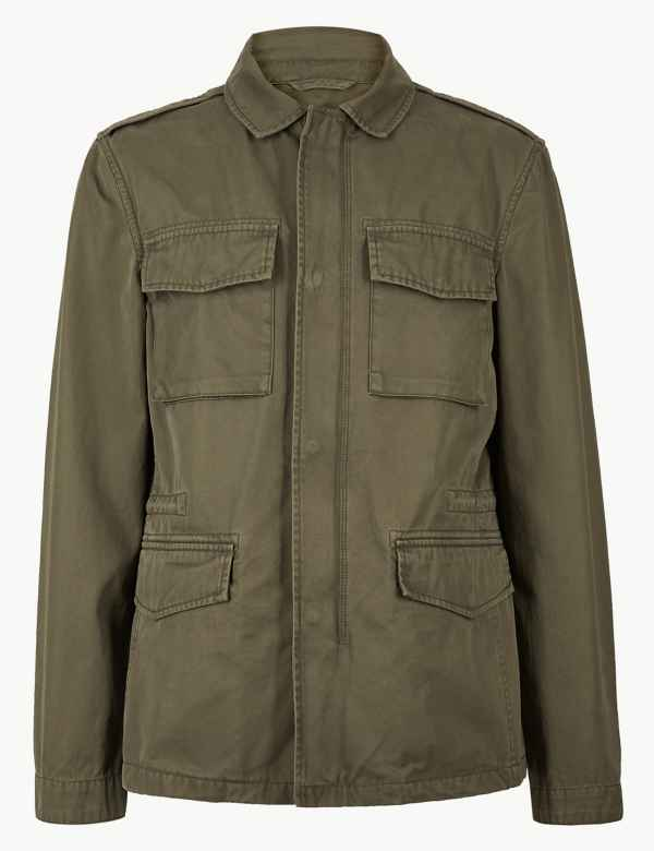 6db03790859 Pure Cotton Four Pocket Jacket. New and Improved Fit