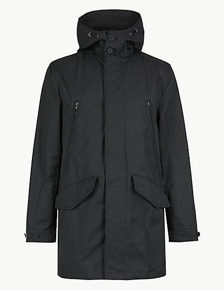 Cotton Rich Parka with Stormwear™