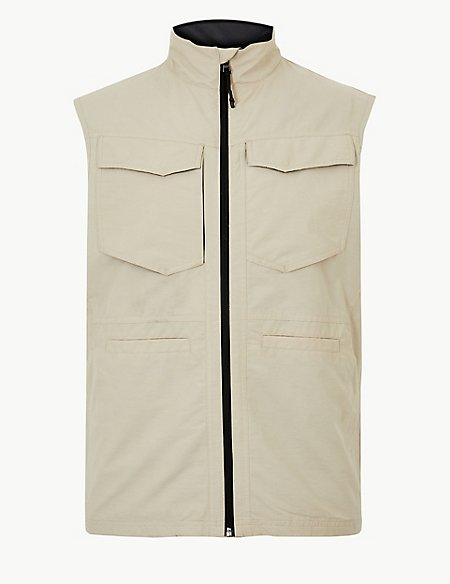 Cotton Rich Gilet with Stormwear™